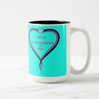 Love's Warmth Two-Tone Coffee Mug