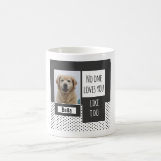 Loves You Like I Do Custom Dog Mug