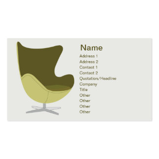 Loveseat - Business Double-Sided Standard Business Cards (Pack Of 100)