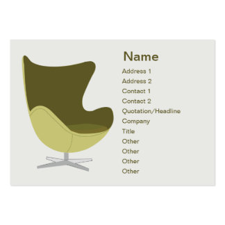 Loveseat - Chubby Large Business Cards (Pack Of 100)