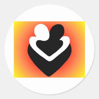 Loveset Classic Round Sticker