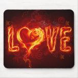 Lovesfire Alfombrilla De Ratón