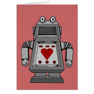 Lovesick Robot Card