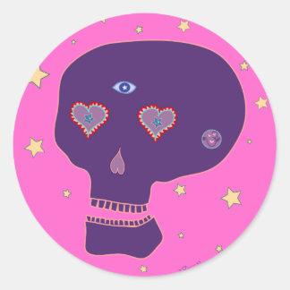 LoveSkull Sticker
