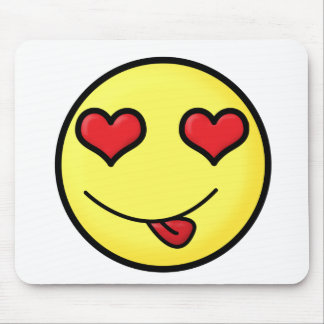 lovesmile mouse pad
