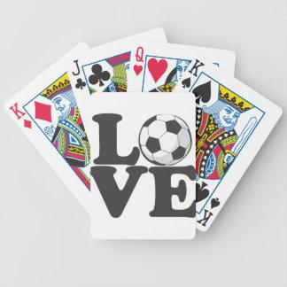 lovesoccer baraja de cartas