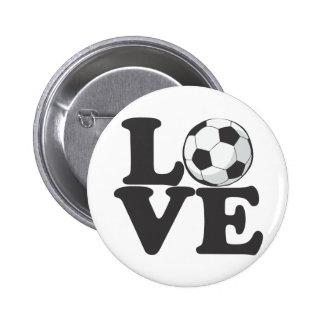 lovesoccer pin
