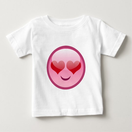 Lovestruck Happy Face Baby T-Shirt