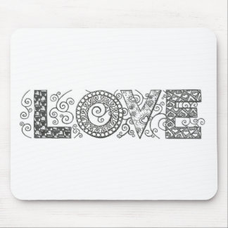 lovetangle mouse pad