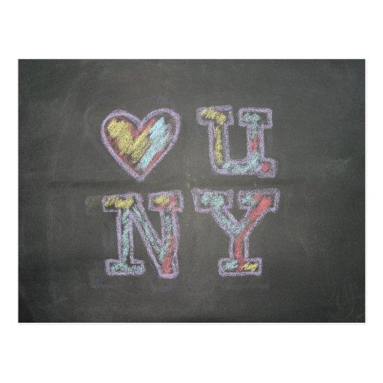 loveU NY Postcard