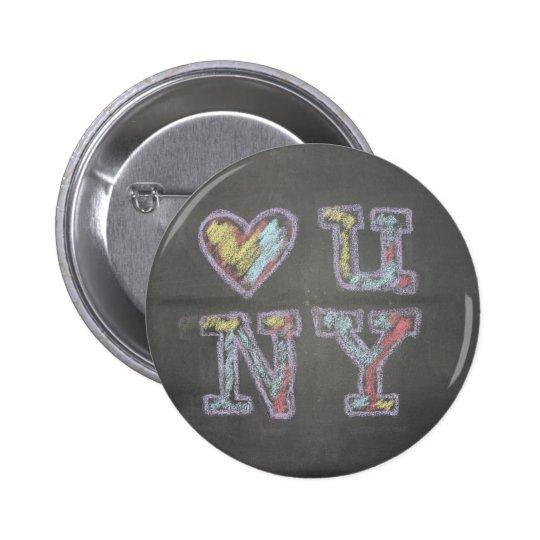 loveuny pinback button