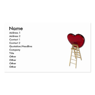 LoveUpwardClimb083010 Name Address 1 Address Business Card Template