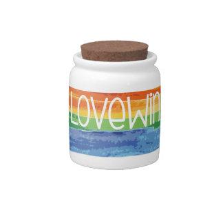 #LoveWins Candy Jar