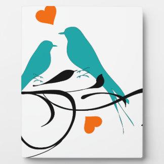 Lovey Birdy Plaque