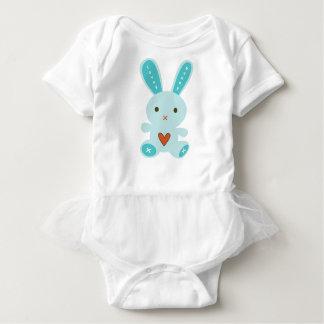 Lovey Bunny Baby Bodysuit