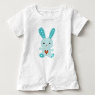 Lovey Bunny Baby Romper