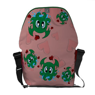 Lovey Cthulhu Courier Bag