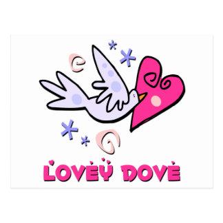 Lovey Dove Postcard