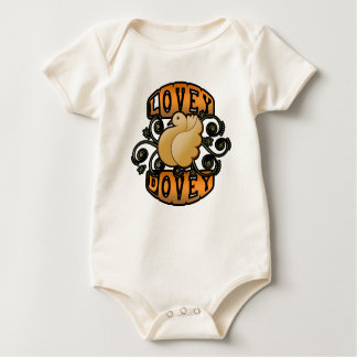 Lovey Dovey! Baby Bodysuit