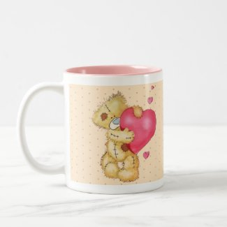 Lovey Dovey Bear mug