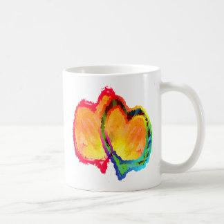 Lovey Dovey Hearts Mug