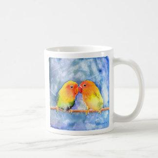 Lovey Dovey Lovebirds Coffee Mug