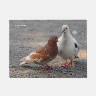 Lovey-Dovey Pigeons: Gentlemen Prefer Redheads Doormat