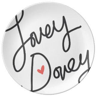 Lovey Dovey Plate