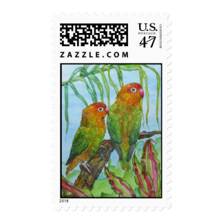 Lovey & Dovey Postage Stamp