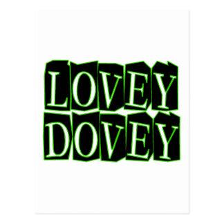 Lovey Dovey Postcard