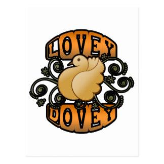 Lovey Dovey! Postcard