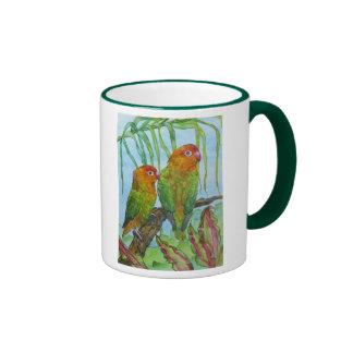 Lovey & Dovey Ringer Mug