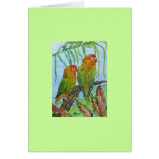 Lovey & Dovey Stationery Note Card