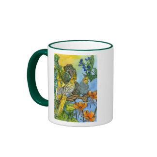Lovey & Dovey, THE 3 MUSKATIELS Ringer Mug