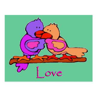 Lovey Doveys Postcard