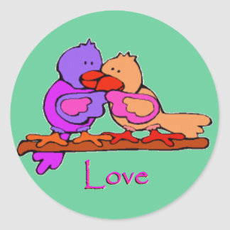 Lovey Doveys Sticker