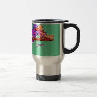 Lovey Doveys Travel Coffee Mug