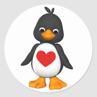 Lovey The Penguin Sticker