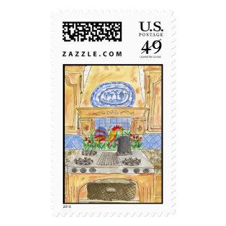 Lovie and Dodge Bon Appetit Stamps