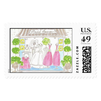 Lovie and Dodge - Bridal Boutique Stamps