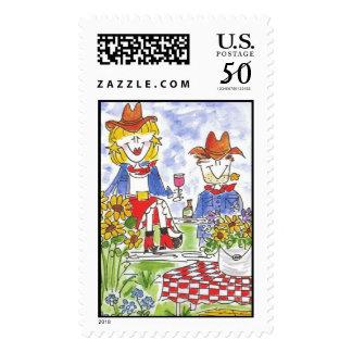 Lovie and Dodge -Bud & Sissy Stamp