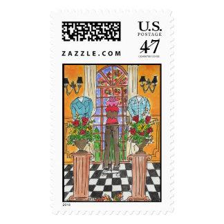 Lovie and Dodge Fall Fashion Stamp
