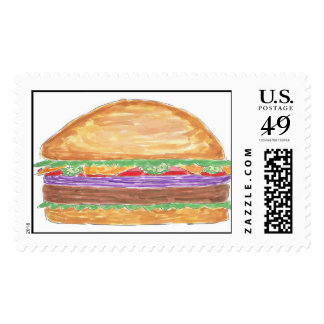 Lovie and Dodge Hamburger Postage