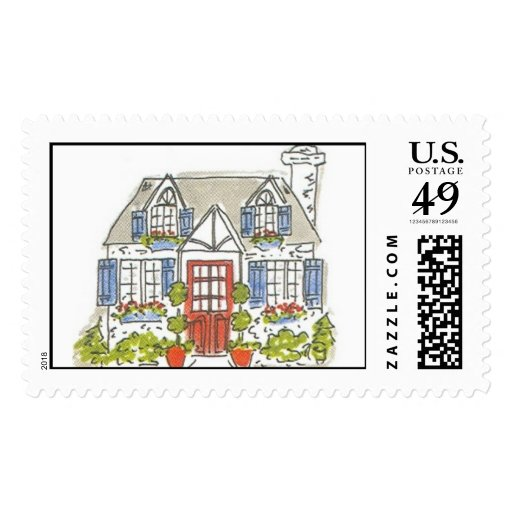 Lovie and Dodge KK House Stamp