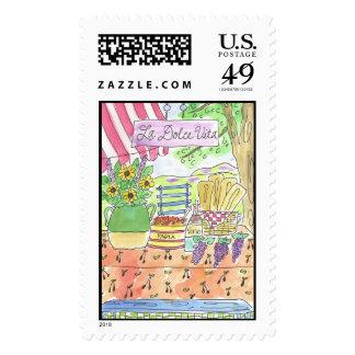 Lovie and Dodge La Dolce Vita Stamp