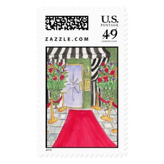 Lovie and Dodge Red Carpet Stamps