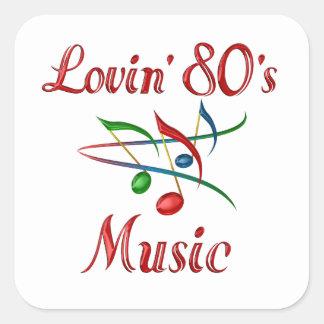 Lovin 80s Music Sticker