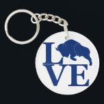 "Lovin&#39; Buffalo Keychain<br><div class=""desc"">For all the reasons you love Buffalo,  New York.</div>"