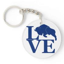 Lovin' Buffalo Keychain