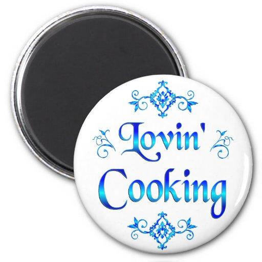 Lovin Cooking Refrigerator Magnets